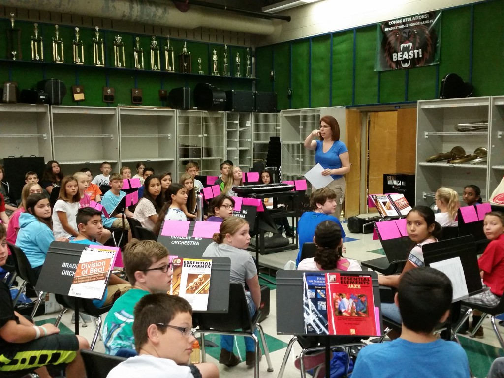 2015 Bradley Middle School Summer Band Camp