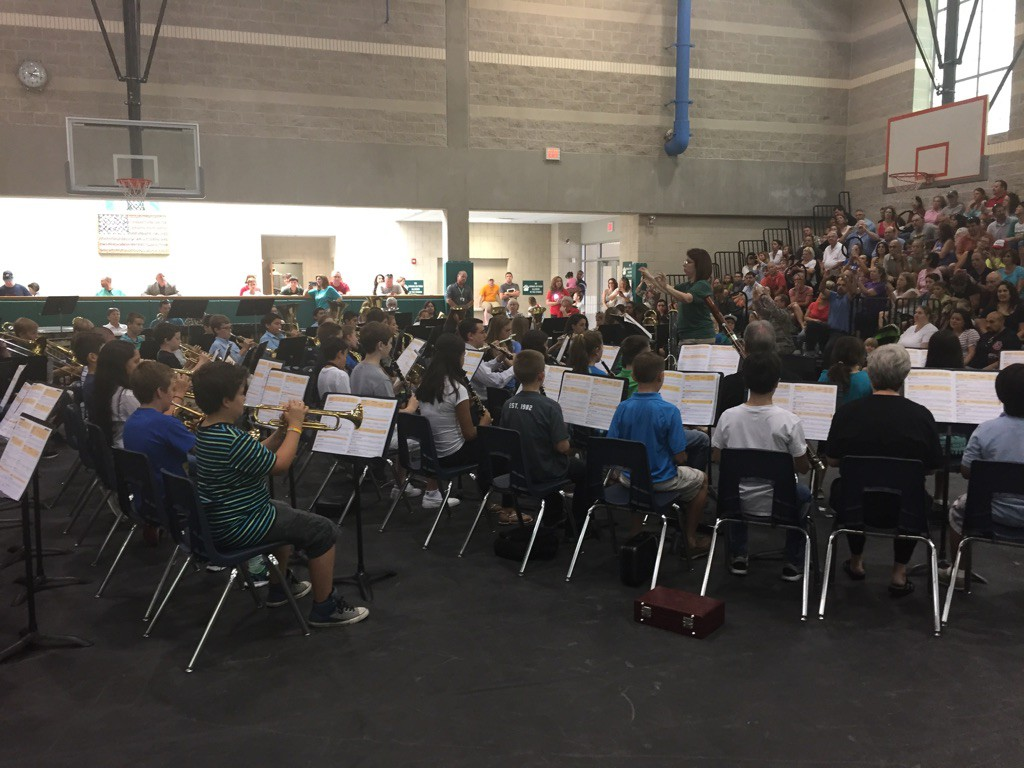 2015 Bradley Middle School Summer Band Camp Concert