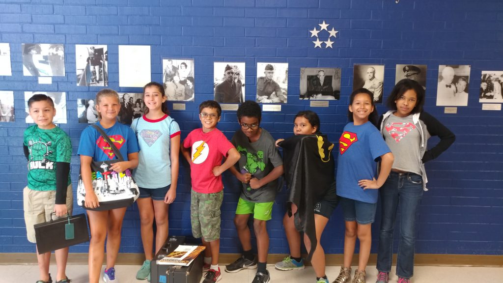 Bradley Band Camp 2017 Super Heroes Day-6th Grade
