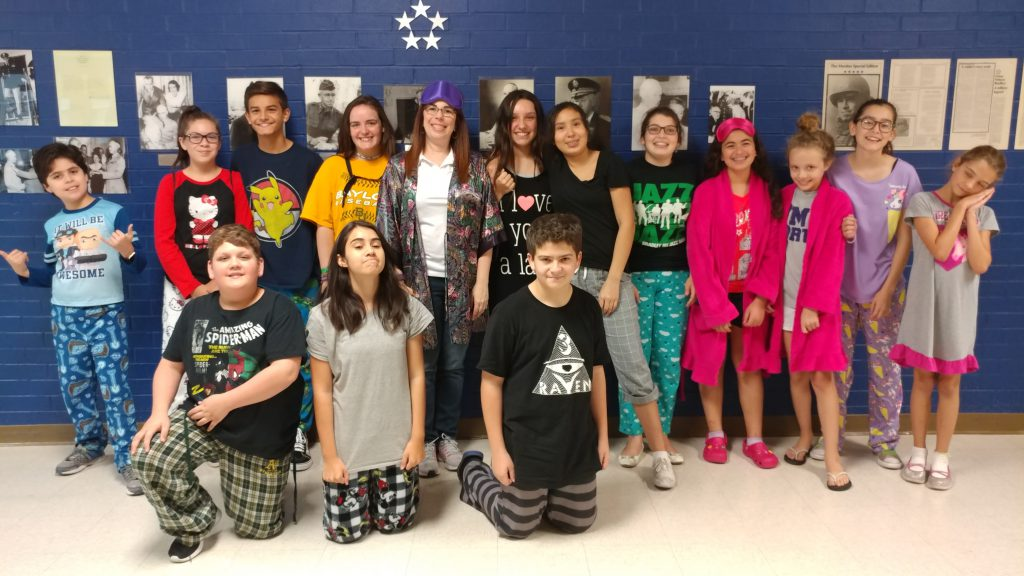Bradley Band Camp 2017 Pajama-Day