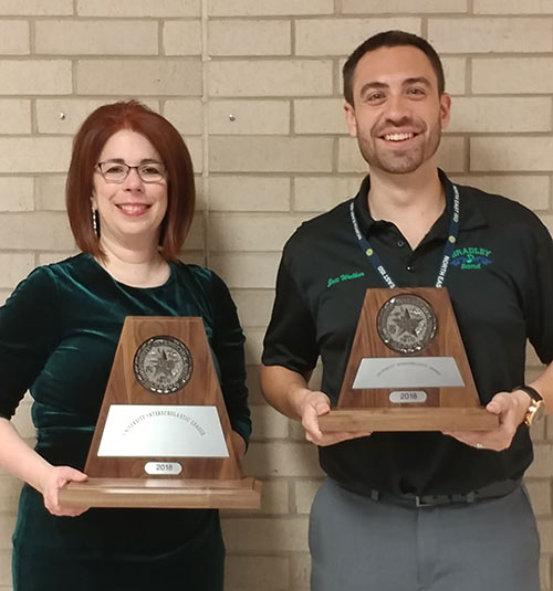 UIL 2018 Directors With Sweepstakes Awards
