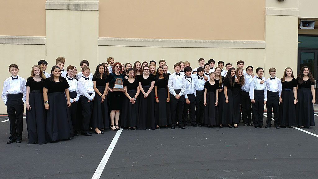 UIL 2018 Honor Band Sweepstakes Award Picture