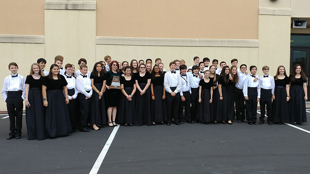 2018 Bradley Middle School Honor Band Earns UIL Sweepstakes - 2018-03-28
