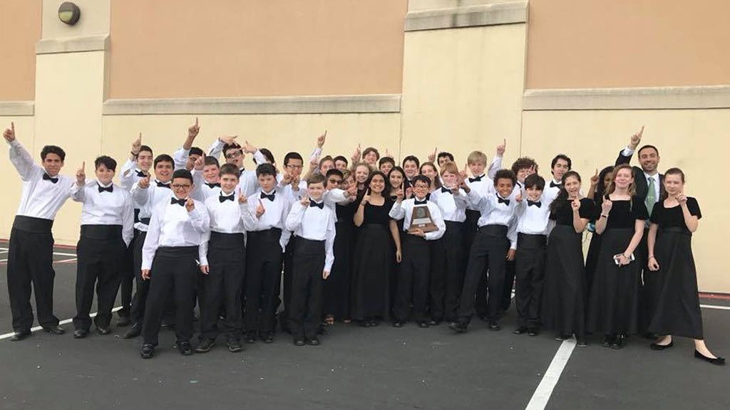 2018 Bradley Middle School Symphonic Band Earns UIL Sweepstakes - 2018-03-28