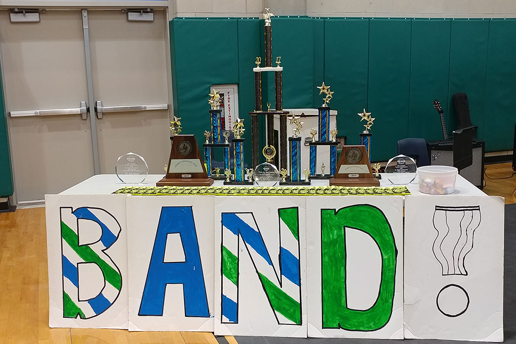 Recent Bradley Middle School Band Awards 2017-2018