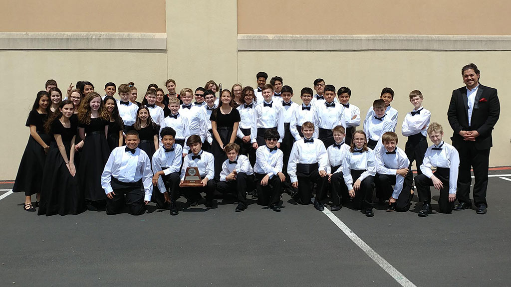 March 28, 2019 - Bradley Middle School Symphonic Band UIL Sweepstakes